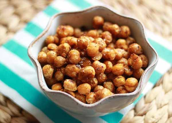Pan-Fried Curried Chickpeas