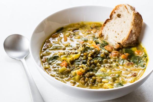 Golden French Lentil Stew