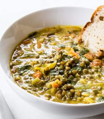 Golden French Lentil Stew Recipe