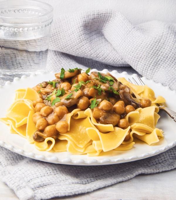 Chickpea & Mushroom Marsala
