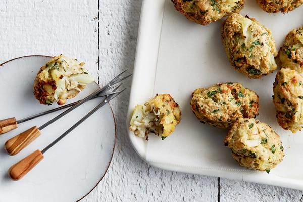 Crispy Parmesan Cauliflower Tots Recipe