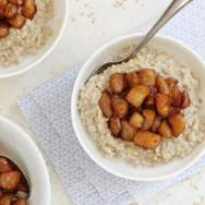 Apple Ginger Steel Cut Oats