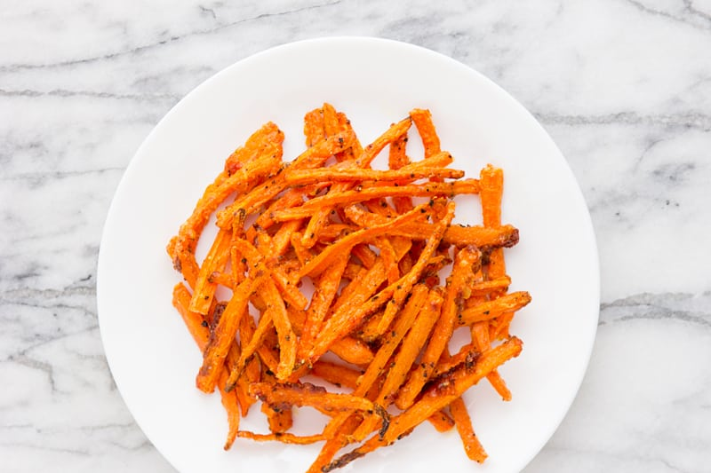 Crispy Carrot Fries from Martha Stewart's Vegetables
