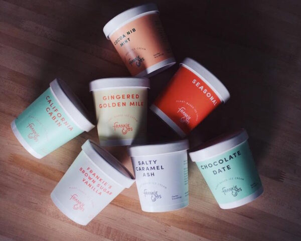 Frankie and Joe's Plant-based Ice Cream