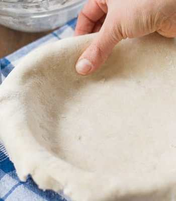 How to Make Coconut Oil Pie Crust