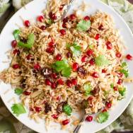 Basmati & Cauliflower Rice Pilaf with Fruit & Nuts