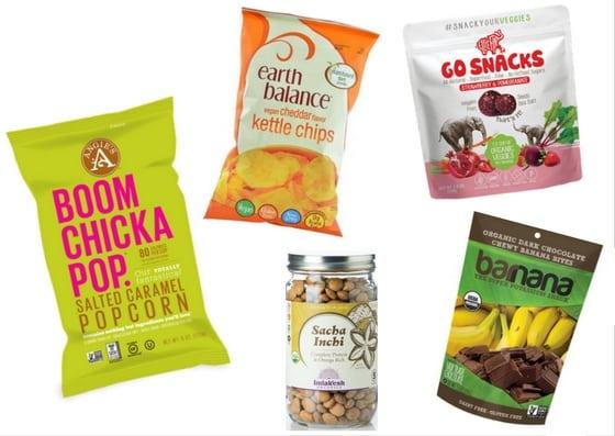 healthy snacks holiday travel vegetarian