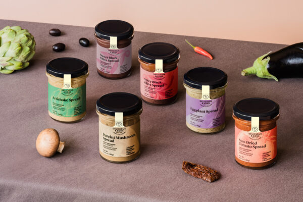 organic mediterranean dips and spreads delicious and sons