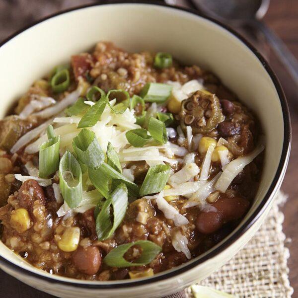 tvp vegetarian chili