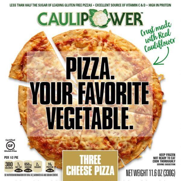 caulipower pizza gluten free
