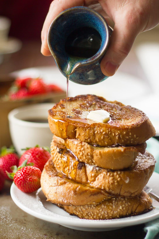 Chai Coconut Milk Vegan French Toast