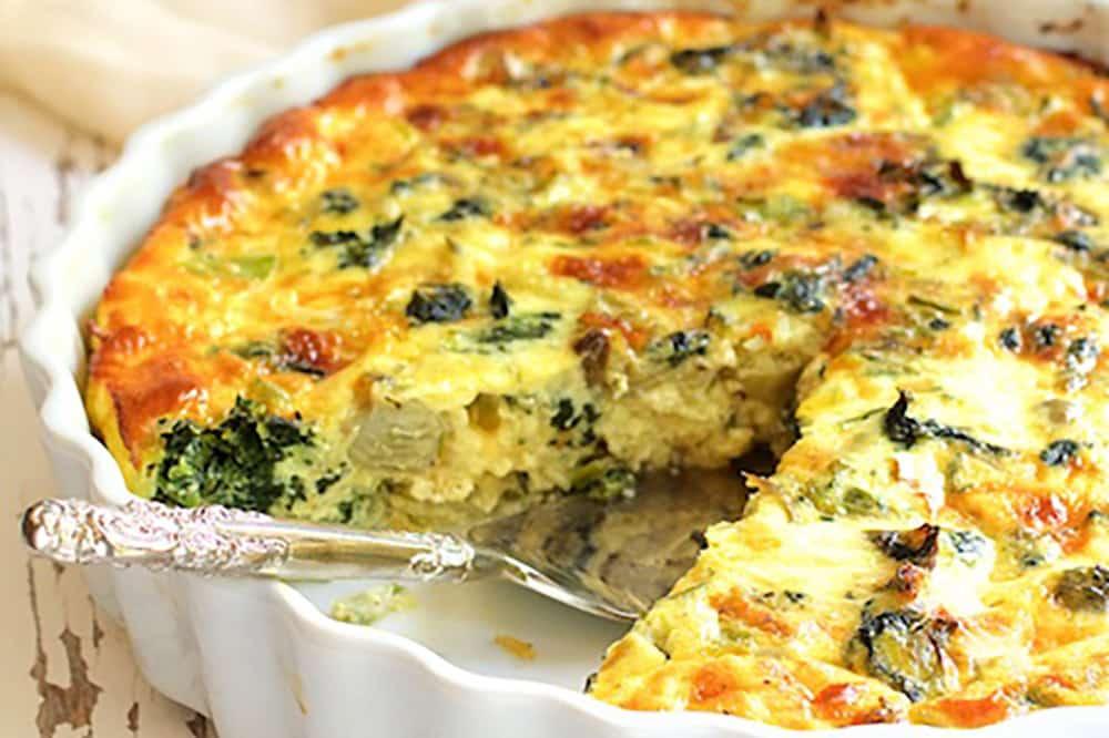 17 Creative Quiche Recipes: Crustless Spinach Artichoke and Jalapeno Quiche