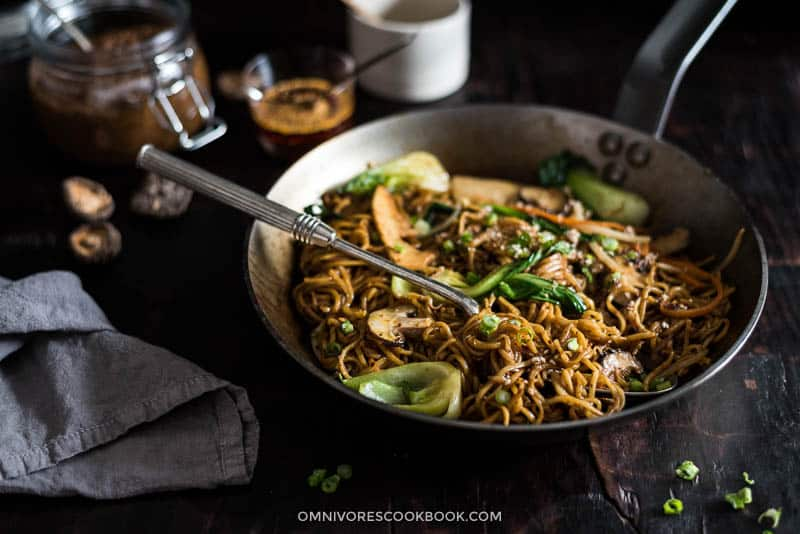 18 Best Easy Vegetarian Recipes: Chow Mein