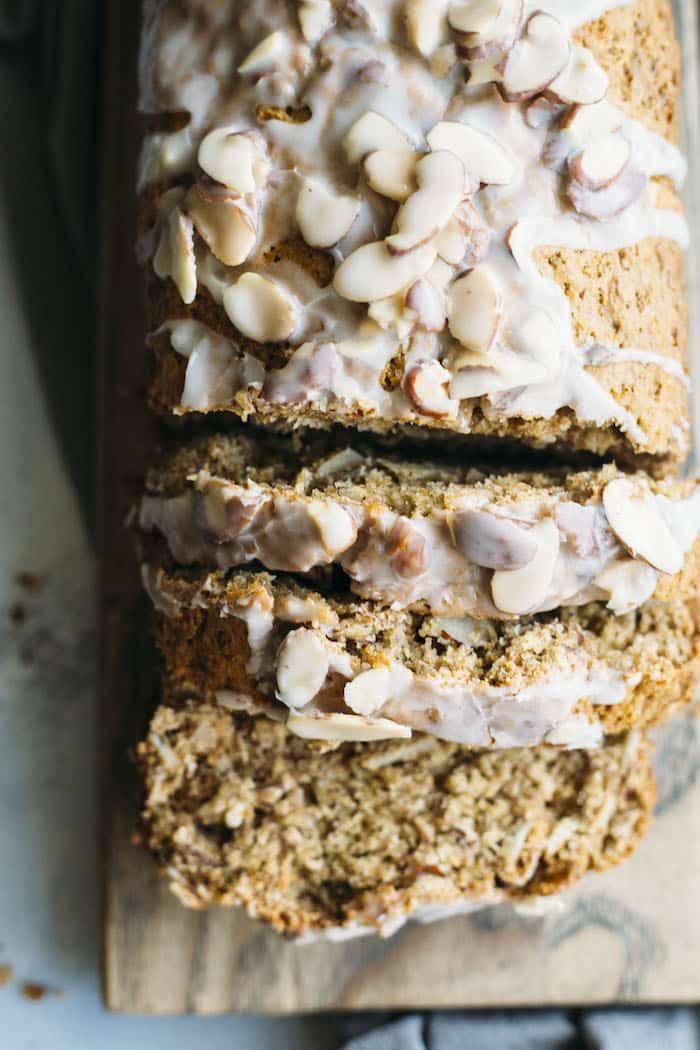 20 Creative and Delicious Banana Bread Recipes: Almond Banana Bread