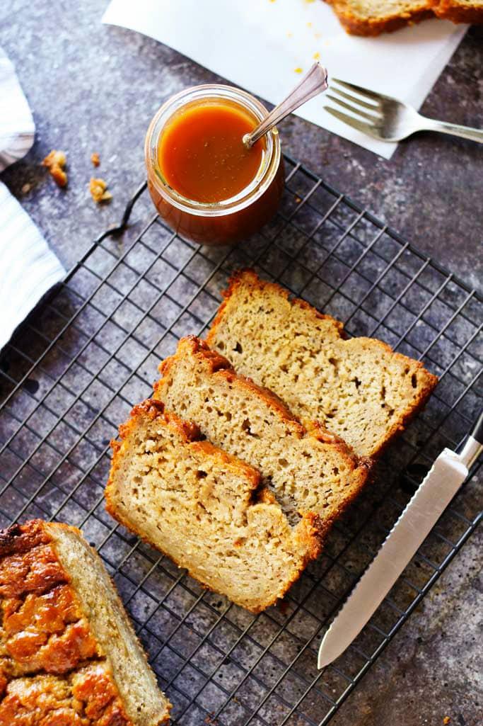 20 Creative and Delicious Banana Bread Recipes: Salted Caramel Banana Bread