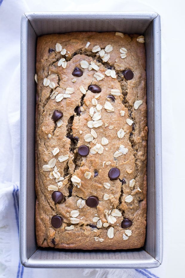 20 Creative and Delicious Banana Bread Recipes: Flourless Vegan Gluten-free Oatmeal Banana Bread