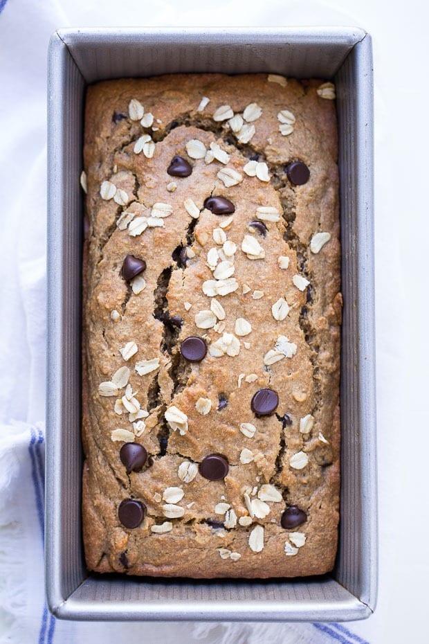 20 Creative and Delicious Banana Bread Recipes: Flourless Vegan Gluten-free Oatmeal Banana Bread