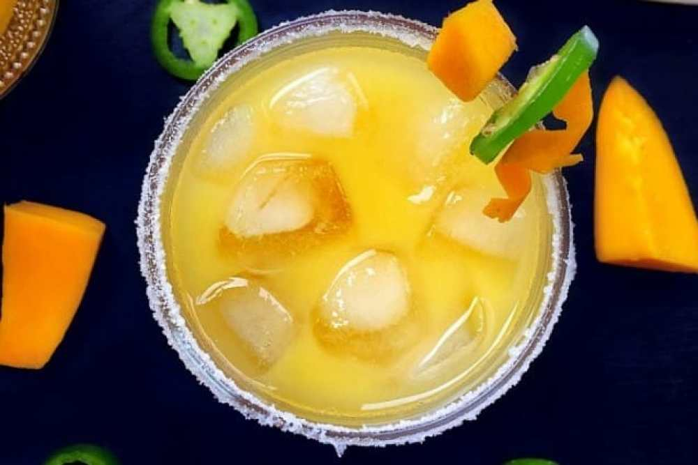 Refreshing Margarita Recipes to Cool You Down This Summer: Mango Jalapeño Margarita