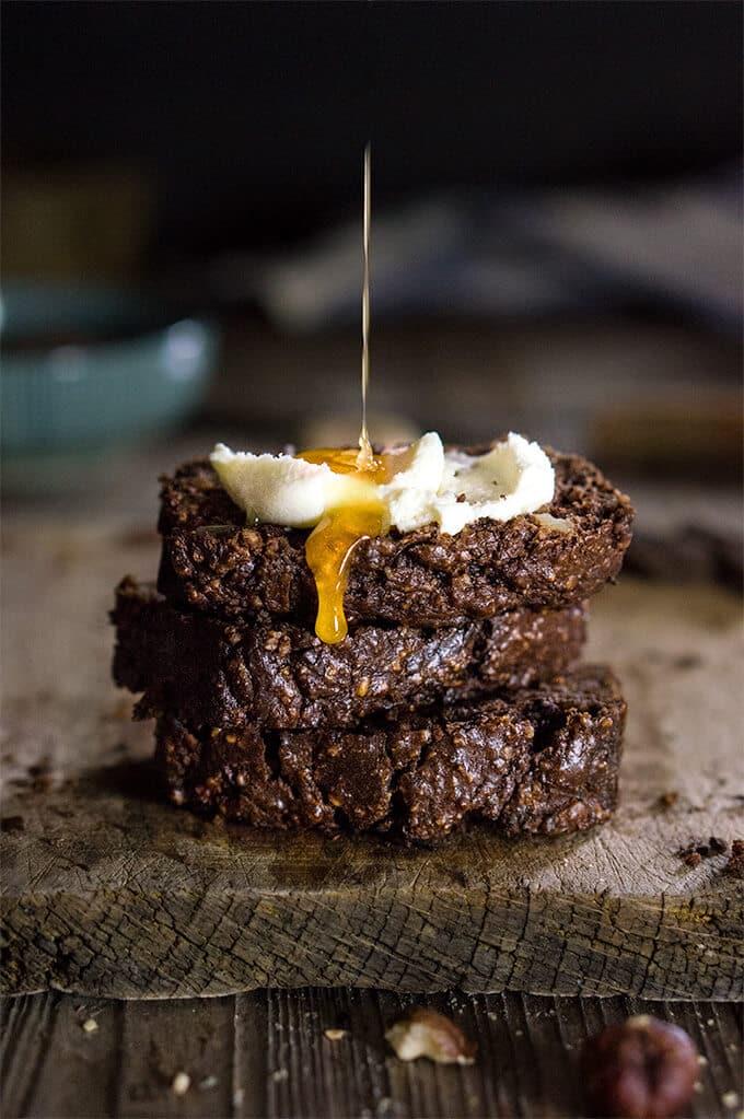 18 Zucchini Bread Recipes Everyone Will Love: Chocolate Hazelnut Zucchini Bread