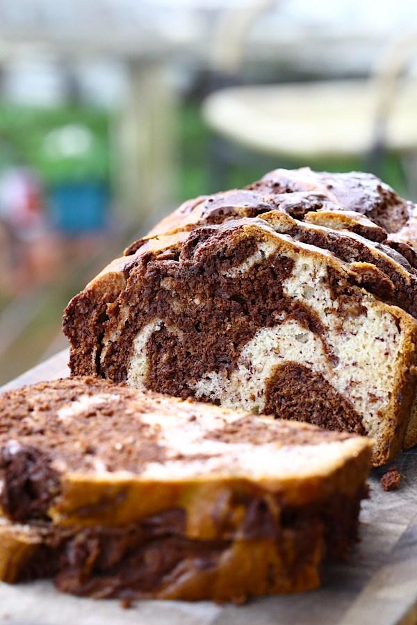 20 Creative and Delicious Banana Bread Recipes: Chocolate Swirl Banana Bread