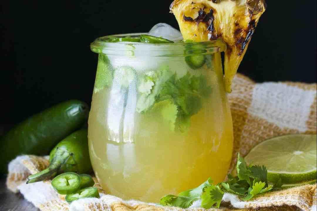 Refreshing Margarita Recipes to Cool You Down This Summer: Grilled Pineapple Jalapeño Margarita