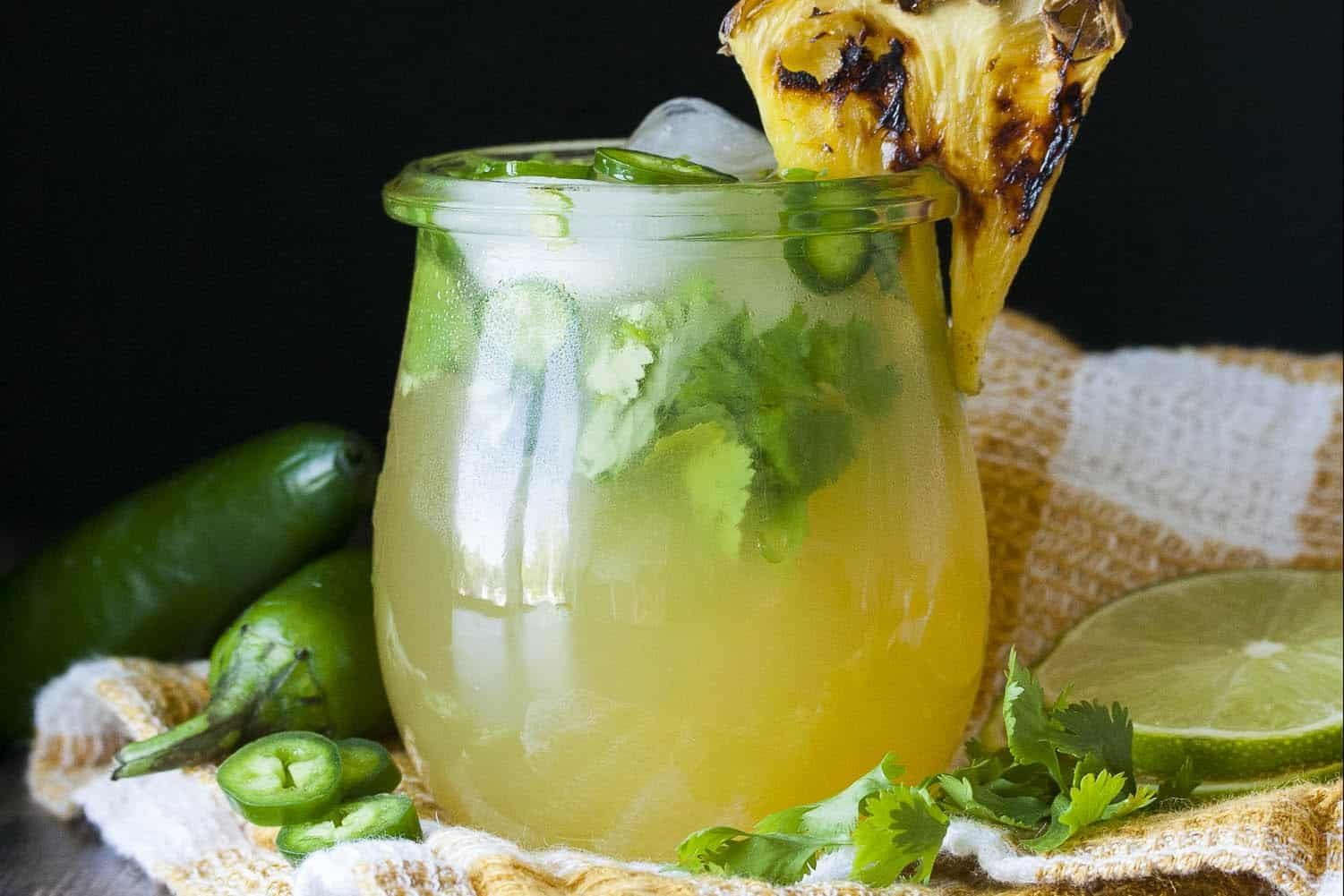 Refreshing Margarita Recipes to Cool You Down This Summer: Grilled Pineapple Jalapeño Margarita