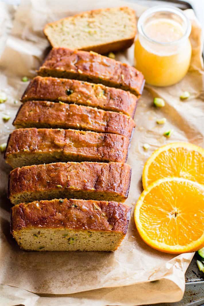 18 Zucchini Bread Recipes Everyone Will Love: Orange Cream Paleo Zucchini Bread