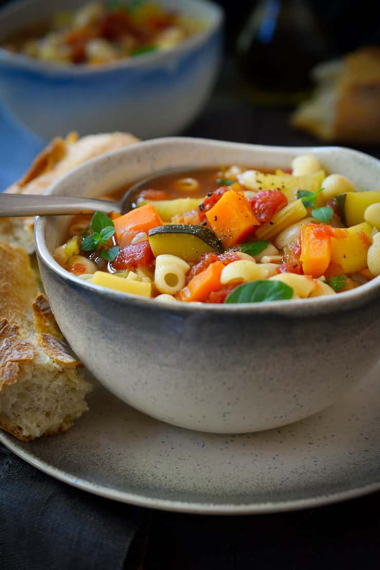 15 Delicious Minestrone Soup Recipes: Vegan Minestrone Soup Recipe