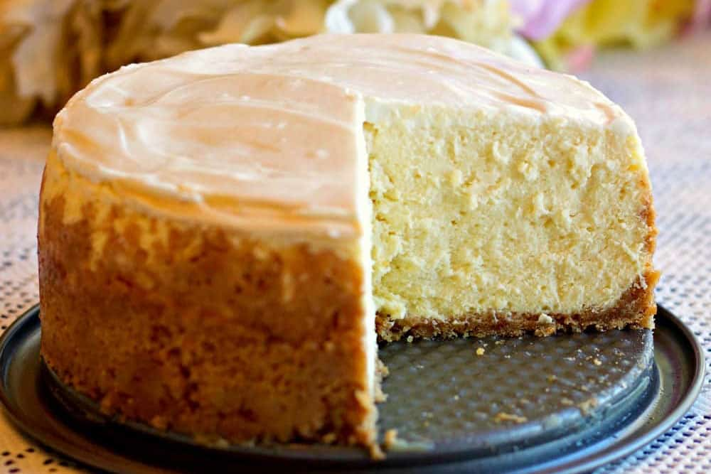 15 Recipes That Take New York Cheesecake to the Next Level: Instant Pot 6-Inch New York Style Cheesecake