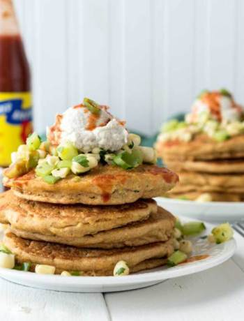 Savory Vegan Breakfast Recipes: Zucchini Corn Cakes