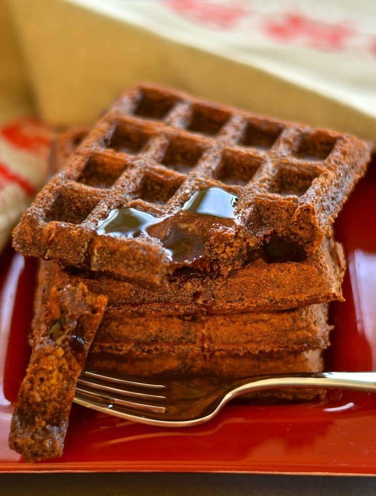 Best Vegetarian Freezer Cooking Breakfasts to Start Your Day Right: Gingerbread Waffles