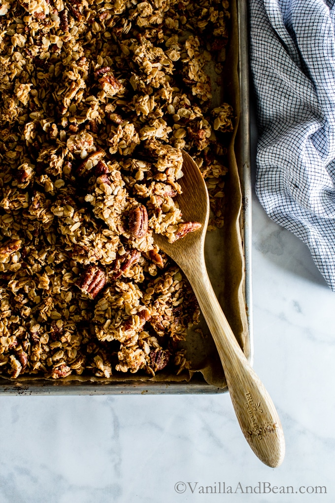 18 Irresistible Recipes for Homemade Granola: Maple Pecan Granola