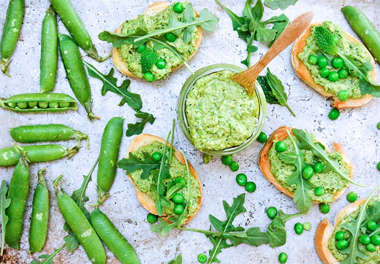15 Creative Pesto Recipes You Need to Try: Pea and Arugula Pesto