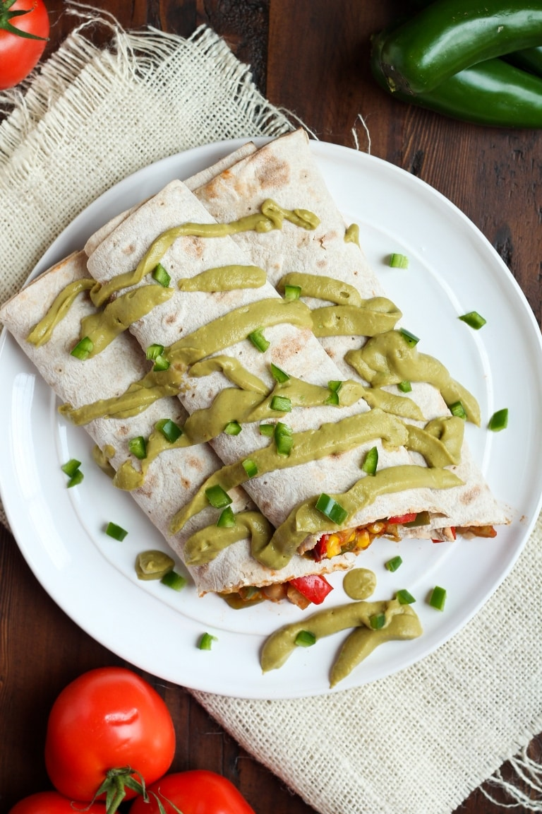49 Savory Vegan Breakfast Recipes: Mexican Breakfast Burritos