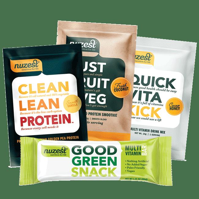 NuZest Vegan Products