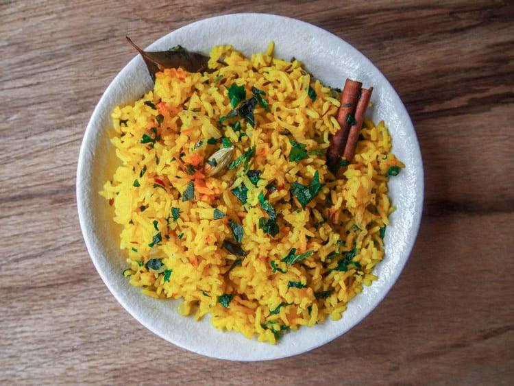16 Spices You Haven't Tried But Definitely Should: Basmati Saffron Pilaf