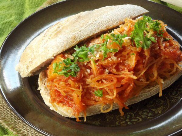 32 Creative Spaghetti Squash Recipes: Spaghetti Squash Sandwiches
