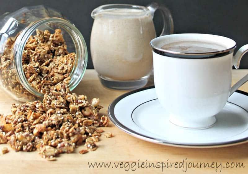 Creamy & Dreamy Vegan Coffee Creamer Recipes: Vanilla Nut Coffee Creamer