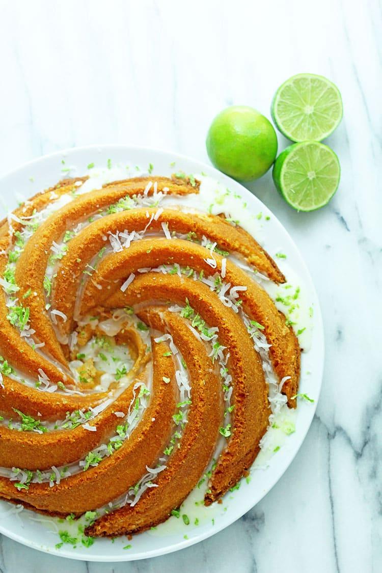 Favorite things key lime bundt cake recipe