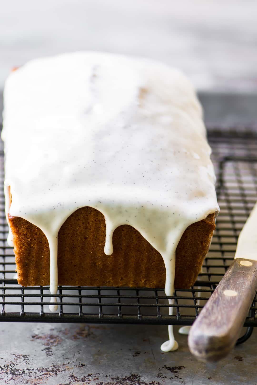 15 Crave-Worthy Pound Cake Recipes: Triple Vanila Pound Cake