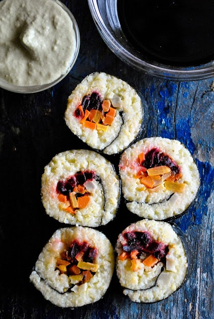 Millet Recipes - Vegan Millet Sushi