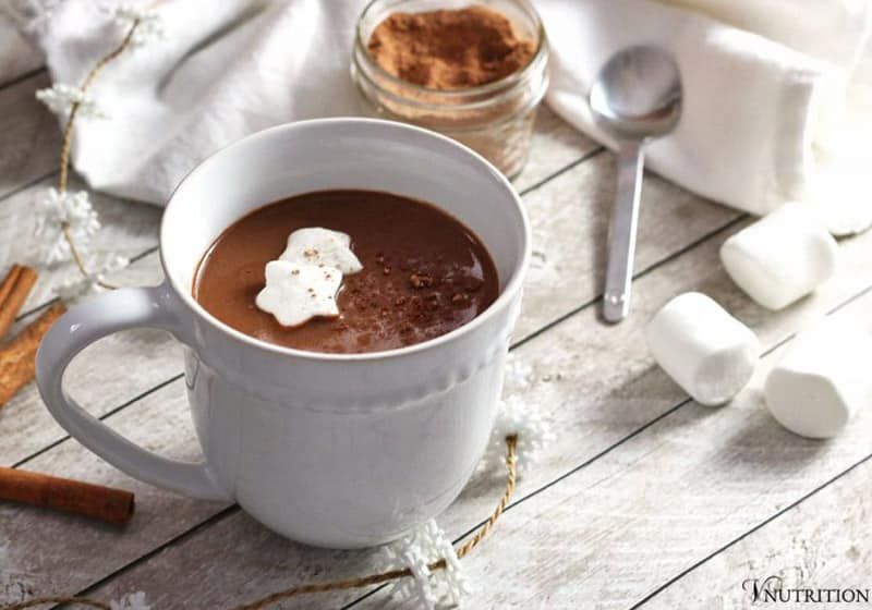 15 Vegan Hot Chocolate Recipes Everyone Will Love: Gingerbread Hot Chocolate