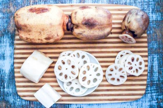 Ingredient spotlight: lotus root