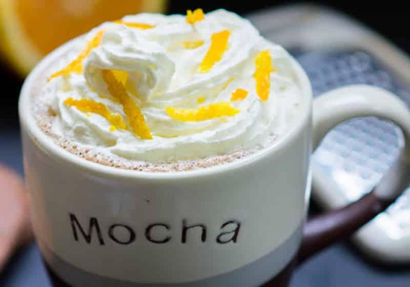 15 Vegan Hot Chocolate Recipes Everyone Will Love: Orange Hot Chocolate