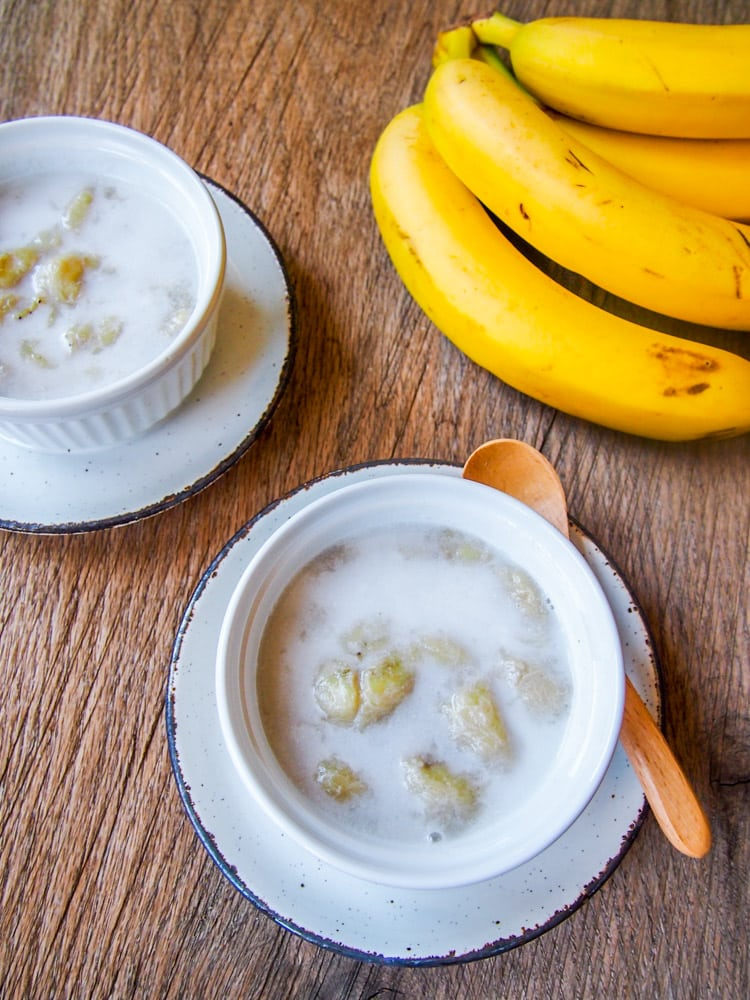 Thai Banana in Coconut Milk
