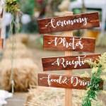 Country Barn Reception Decor Ideas