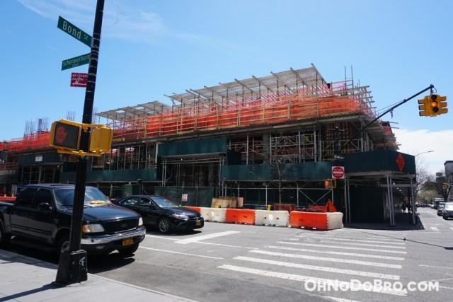 Construction at 61 Bond