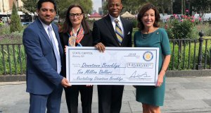 $10M check for Downtown Brooklyn