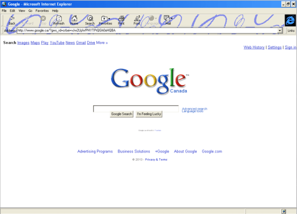 The Google homepage is virtually perfect.