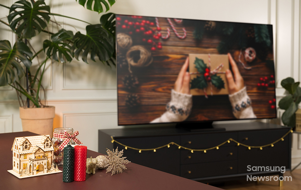Your Guide to Celebrating the Holidays with Samsung QLED 8K